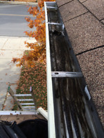 Gutters  Cleaning >From 100 ,Eavestrough  Cleaning