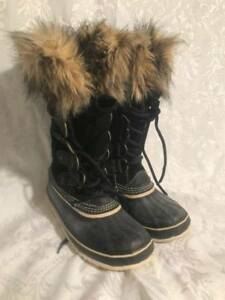 Sorel Women's Joan of Arctic Winter Boots - Black Size 8