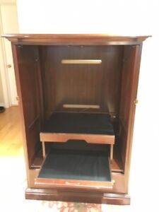 Solid wood (cherry) cabinet for TV/Bar/Storage