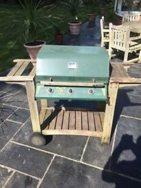 Gas Three Burner BBQ