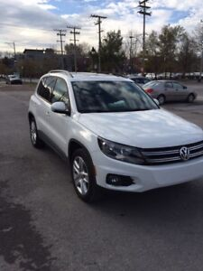 2016 Tiguan Volkswagen Lease transfert- ConfortLine Ttes options