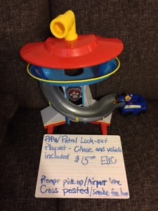 Paw Patrol Look out Tower - Chase and vehicle included $15