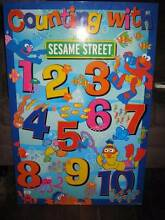 Sesame Street Counting Board Hamersley Stirling Area Preview