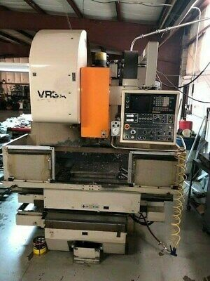 Mitsui Seiki Vr3a 1980s Cnc Vertical Machining Center Used Under Power