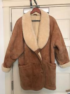 Danier Ladies Sheepskin Coat