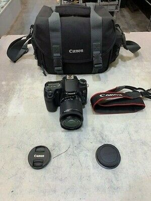 Canon EOS 70D Digital SLR Camera Black W/ EFS 18-55MM LENS