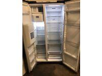 Samsung American fridge freezer black