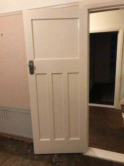 One 1930 S Internal Solid Wood Doors 3 Over 1 Panel In