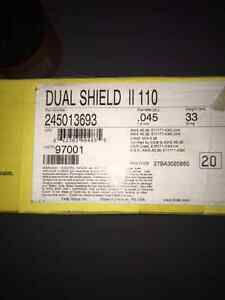 "ESAB Dual Shield II 110 Welding Wire 0.045"" 33 Lbs"