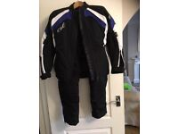 ladies motorcycle trousers size 10 and jacket size 8
