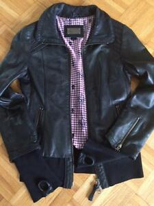 Manteau CUIR MACKAGE Small/ Authentic/ comme neuf /NOIR
