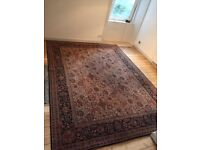 "Large Persian Rug 268cm x 366cm 8ft10"" x 12ft"