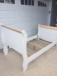 Beautiful Single Bed Frame, also box and mattress available