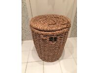 Woven laundry / clothes basket
