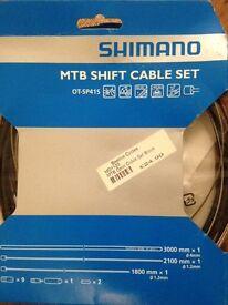 Mountain bike shift cable set Shimano