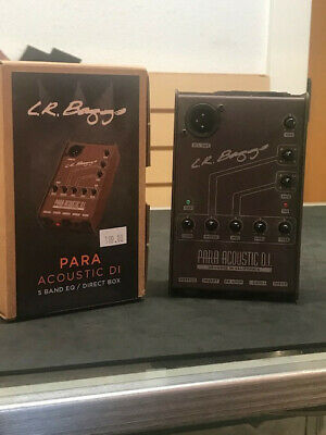 L.R. Baggs Para Acoustic DI, New, out of box, Great Deal!