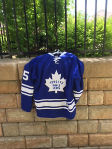 AUTHENTIC TORONTO MAPLE LEAFS JERSERY