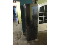 SAMSUNG RL37LGIH Fridge Freezer in Silver / Stainless Steel