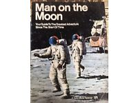 Rare collector magazines - Man on the Moon and Battle of Britian/blitz in Southampton