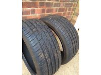 Used hifly tyres 215/40/R17 87w