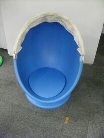 IKEA PS LÖMSK Swivel armchair . Blue colour