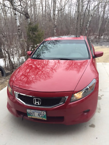 2008 Honda Accord EX-L Coupe (2 door)