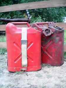 Gas cans  - Gerry  cans