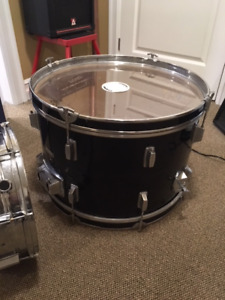 Bass and snare drum