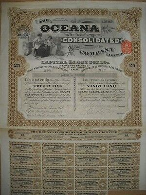 Oceana Consolidated Company   London  1929