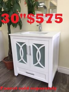 BATHROOM VANITY. SHOWER DOOR. BATHTUB.FROM $186