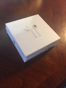 NEW APPLE AIRPODS WIRELESS BLUETOOTH HEADPHONES BOXED $99