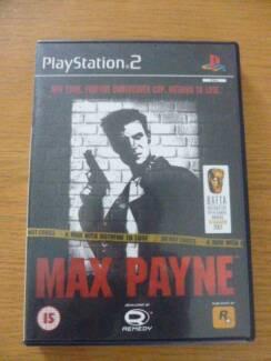 PS2 Game MAX PAYNE Leichhardt Leichhardt Area Preview