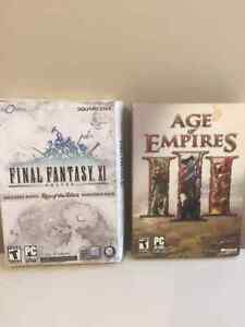 Final Fantasy XI and Age of Empires 3