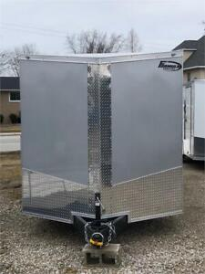 Brand New 2019 - 7'x16' - Enclosed Cargo Trailer - Steel Frame