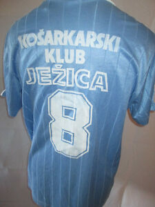 Kosarkarski-Match-Worn-1986-1997-Football-Shirt-with-COA-6264