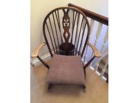 Ercol Rocking chair(dark)