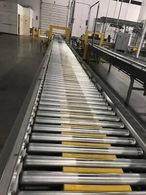 Hytrol Abez Gen 3 Zero Pressure Accumulation Live Roller Conveyor 24 Wide X 50