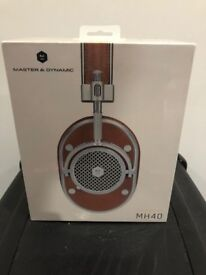New- Master & Dynamic MH40 Headphones