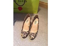 Leopard print shoes from Primark, size 5