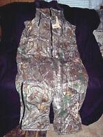 e16e6ac7c5b43 Mens 3X Tall Realtree Camo Bibs Insulated Coveralls Bib Overalls Waterproof  $170