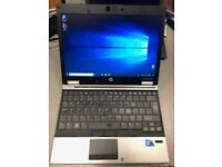 "HP EliteBook 2540p Small 12"" Screen, Intel i5 Quad Core 2.53Ghz, 4GB ONLY £130"