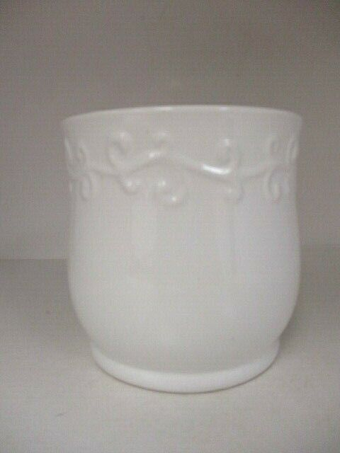 Edible Arrangement White Vase