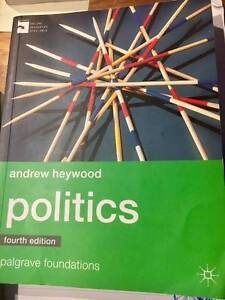 Politics by Andrew Heywood 4th Edition Albury Albury Area Preview