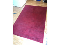 Red rug, MADE Jago, 120x170cm