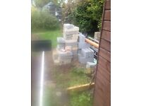 Breeze and Concrete Blocks - Free to pick up