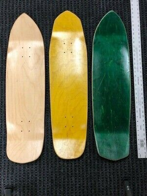 "SKATEBOARD DECKS,Punk'r Points 8.5"" + Assorted (3 Pack) USA made ($13.33 each)"