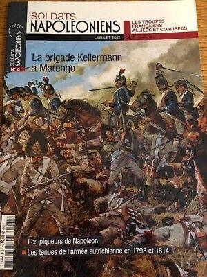 SOLDATS NAPOLEONIENS - JUILLET 2012 - (NAPOLEONIC SOLDIER UNIFORM MAGAZINE)