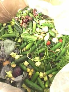 Organic Fruit & Veg Waste (compost)  (FREE) ( Good quality )