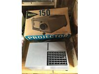 Two Slide Projectors and accessories