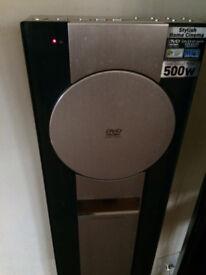 PANASONIC DVD system with surround sound